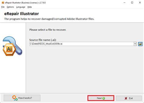 repair damaged illustrator file software how to repair ai file adobe illustrator recovery tool