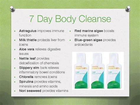 7 Day Detox Cleanse by The World S Catalog Of Ideas