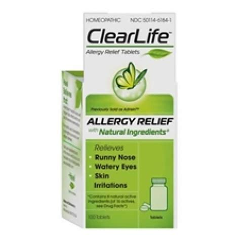 Heel Homeopathic Detox Kit Reviews by Heel Clearlife Formerly Adrisin 100 Tablets The