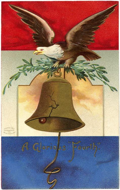 vintage patriotic eagle image  graphics fairy