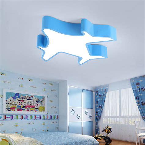 design im kinderzimmer led deckenleuchte modern flugzeug design im kinderzimmer