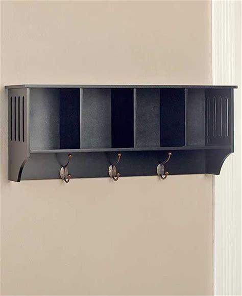 entryway storage bench and wall cubbies white or black hallway entryway storage wall shelf w