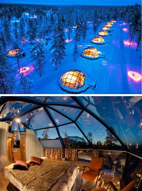 hotel under northern lights rent an igloo in finland under the northern lights future