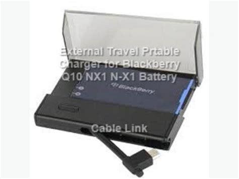 Baterai Log On Blackberry Nx1 N X1 Bb Q10 Batreoriginaldouble Powe S portable external battery charger for blackberry q10 n x1 nx1 central ottawa inside greenbelt