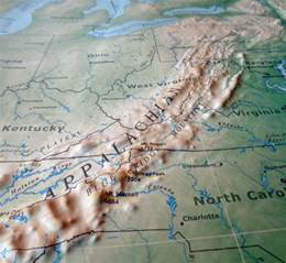 two new 3d us maps raised relief geophysical and aviation
