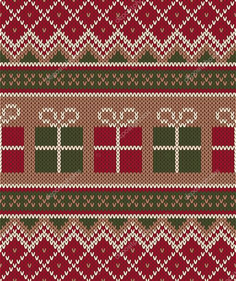 holiday pattern texture christmas sweater design seamless knitting pattern
