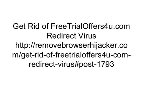 how to get rid of a virus on android phone get rid of free trialoffers4u redirect virus