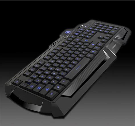 Keyboard Laptop Led backlit illuminated backlight gaming keyboard blue led usb wired for pc laptop keyboard in