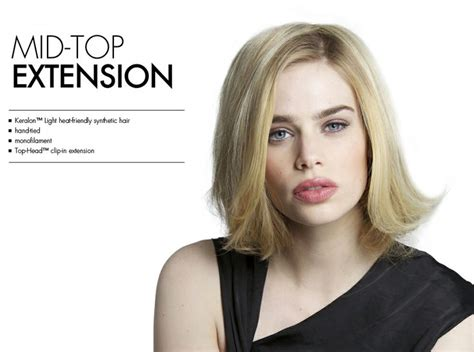 top of head hairpieces best hair colors for thinning hair mid top extension by