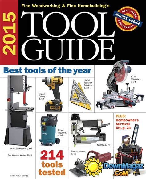 tool guide     fine woodworking