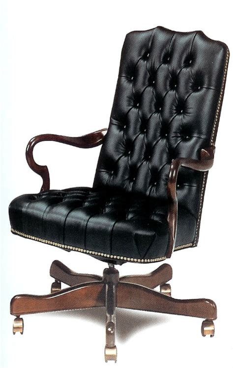 Leather Desk Chairs Swivel by Leather Office Furniture Sycamore Leather Desk Chair