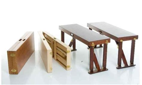 bench folding hand crafted folding benches spiderlegs