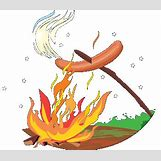 Grilled Hot Dogs Clip Art | 352 x 304 gif 15kB