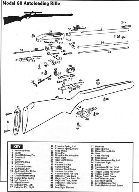 marlin glenfield model 60 parts diagram marlin model 60 schematic 60sb schematic numrich