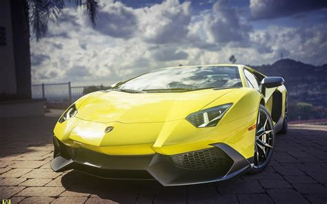 yellow lamborghini aventador yellow lamborghini aventador super car wallpapers new hd
