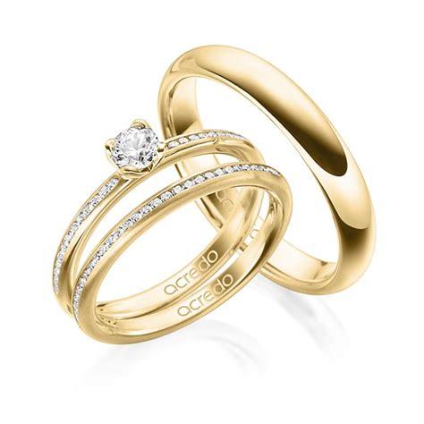 Verlobungsring Trauring by Verlobungsring Diamantring 0 3 Ct Tw Si Gelbgold 585 A