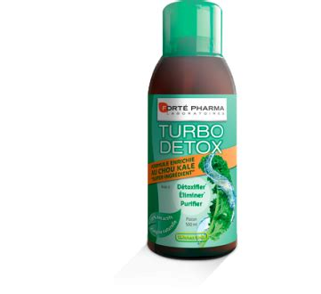Forte Pharma Turbo Detox by Fort 233 Pharma Turbo Detox