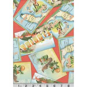 florida themed quilting fabric tropical fabrics