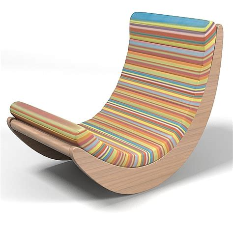Wooden Chair Designs by Creative Modern Rocking Chair Design Plushemisphere