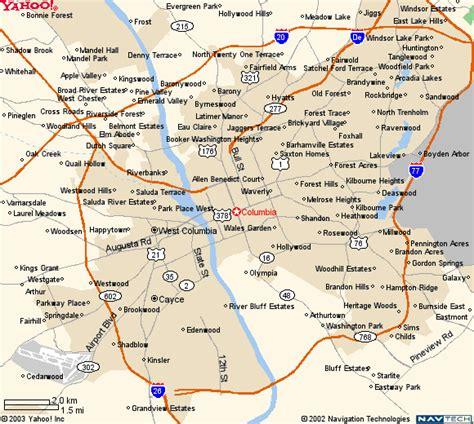 map of columbia south carolina icrsanav