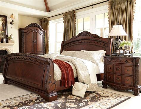 north shore sleigh bedroom set millennium  reviews