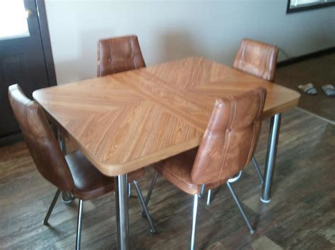 vintage kitchen chairs bc retro kitchen table and 6 chairs central nanaimo nanaimo