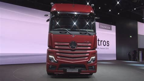 Mercedes Truck 2019 by Mercedes Actros 1853 Tractor Truck 2019 Exterior