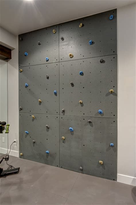 basement climbing wall transitional basement denver