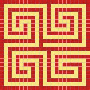 examples of roman maze mosaics