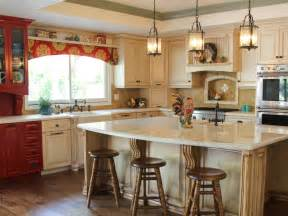 Country Kitchens With White Cabinets Country Kitchen With And White Cabinets Hgtv