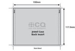 cd case templates