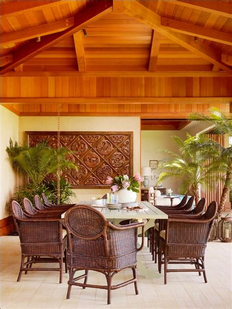 tropical dining room hawaii home tropical dining room hawaii by