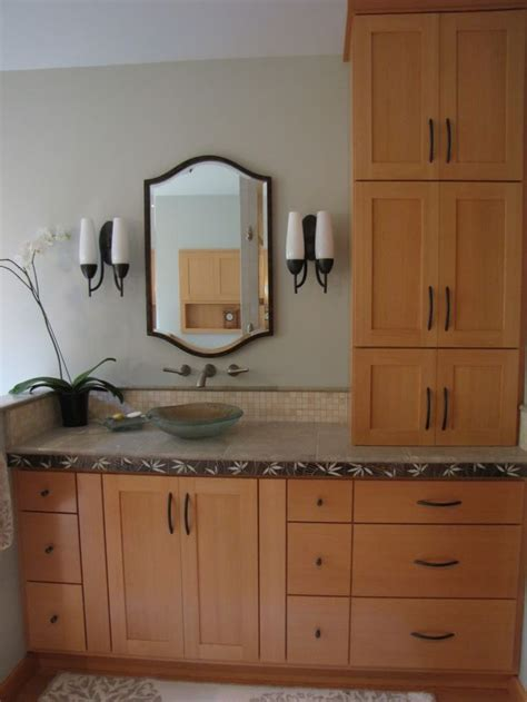 bathroom vanity tower best vanity tower for bath vanities built in re best
