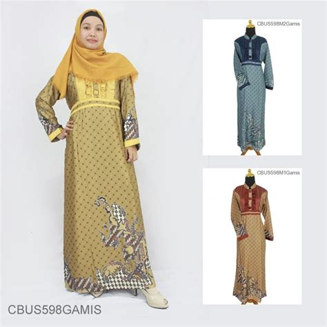 Gamis Batik Semi Sabuk baju batik sarimbit gamis semi motif jagad truntum