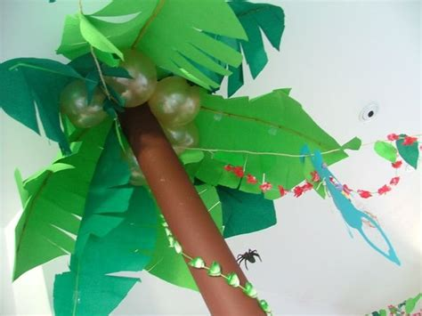 A Palm Tree Out Of Paper - 17 best images about vbs 2014 on snacks