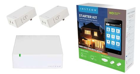 insteon home automation starter kit includes 2nd