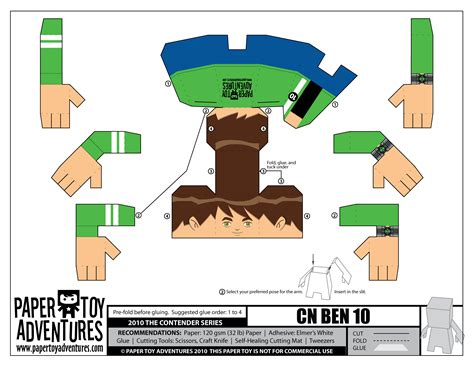 How To Make A Paper Ben 10 - paper ben 10 marcos291