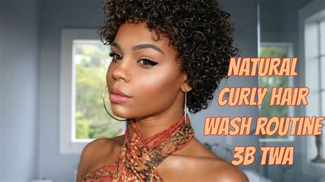 hair cuts for twa natural curly hair wash routine 3b twa youtube