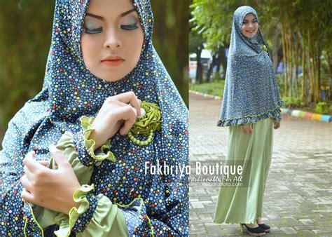 Gamis Khadijah Syari Pink khadija hijau muda baju muslim gamis modern