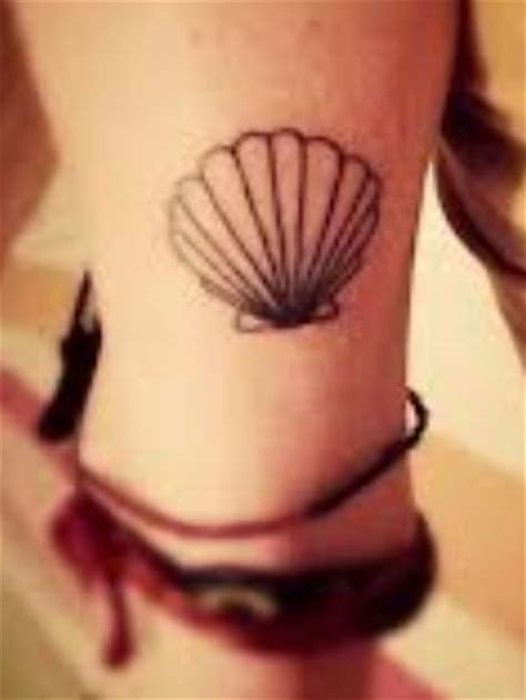 sea shell tattoo seashell tattoos seashell tat piercings tattoos