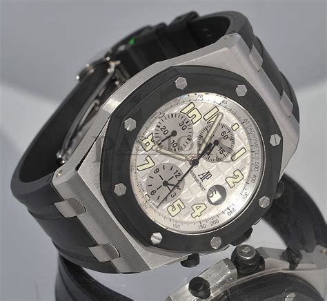 Audemars Piguet Clone Ap Rubber Clad audemars piguet 42mm quot royal oak shore quot rubber clad chronograph ref 25940sk in steel