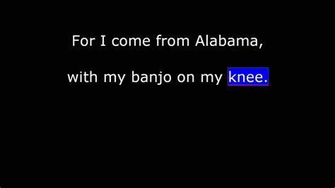 susanna testo traditional american song oh susanna