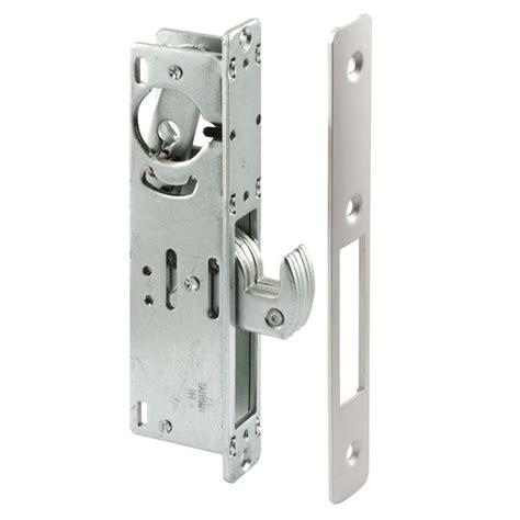 Deadlock Door Knob by Ideal Security Deluxe And Screen Door Lever Handle And Keyed Deadlock In Brass Hk01 I 022