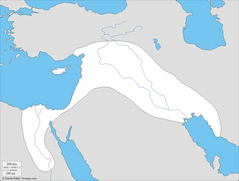 middle east map fertile crescent fertile crescent mesopotamian and free map free