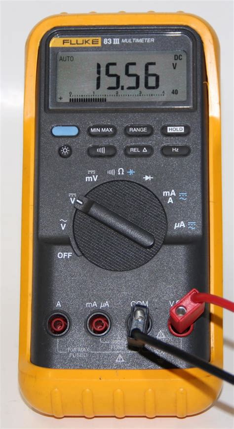 Multimeter Fluke 83 fluke 83 iii multimeter king shop tilburg