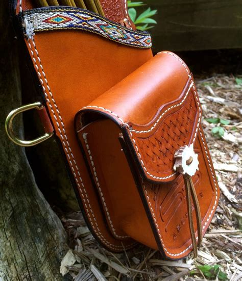 Handmade Leather Quivers - 17 best images about archery quivers on