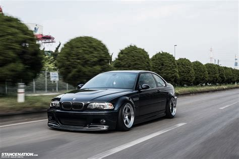 bmw slammed just right kazuki s beautiful bmw e46 stancenation