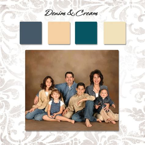 family photo color schemes 10 best family color schemes images on