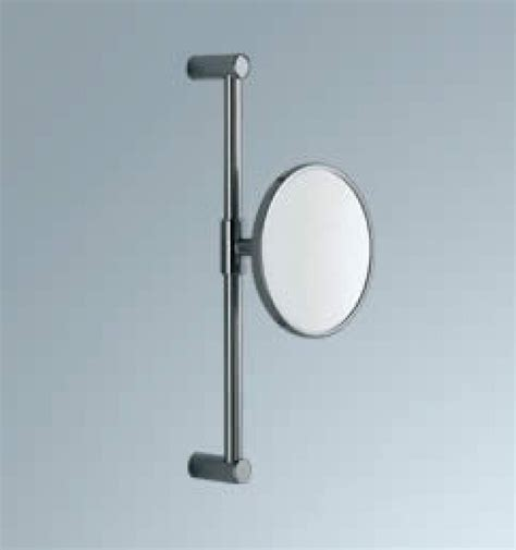 magnifying bathroom mirrors wall mounted chrome wall