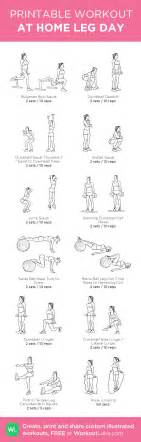 workout plan for women at home 12 at home leg day workout for women